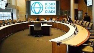 ICSID φόρτο εργασίας Στατιστικά