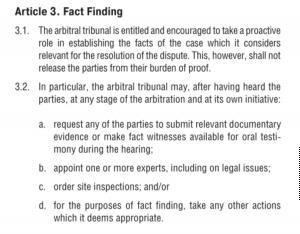 V Reglas de la IBA. Reglas de Praga en el arbitraje internacional