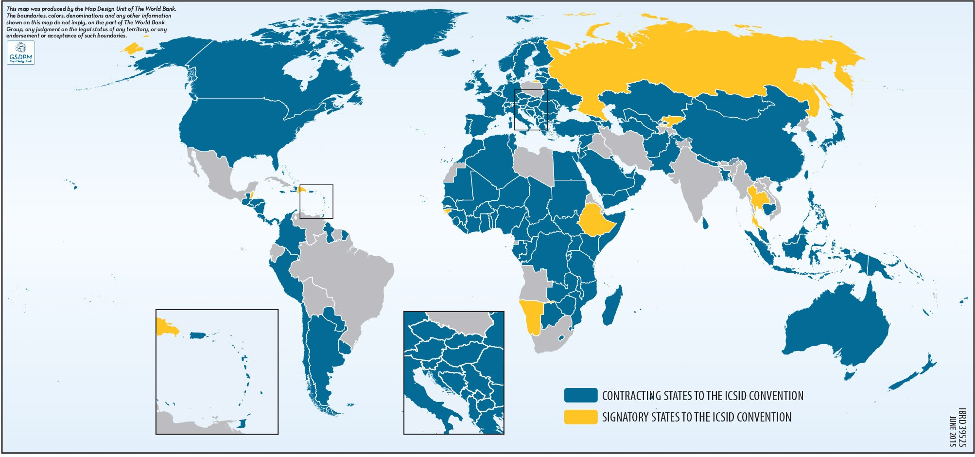 Investor-State Disputes: States that Have Ratified the ICSID Convention