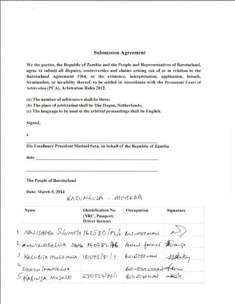 PCA Arbitration