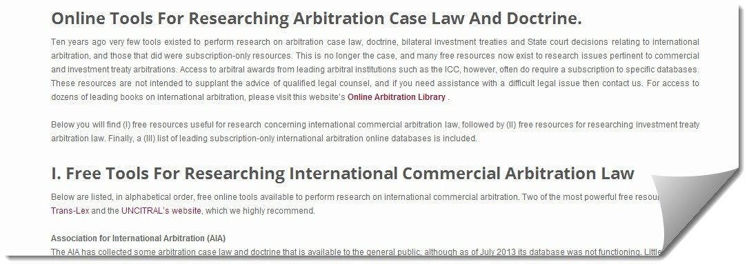 Research-Arbitration-Law