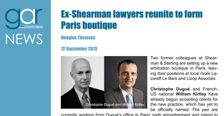 Ex-Shearman Lawyers