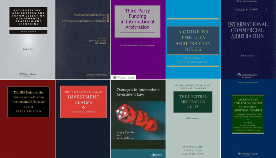 International Arbitration Books